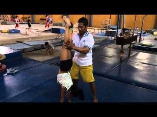 Gymnastics Training by Naura