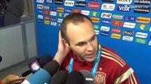 Iniesta : 'Le moment le plus dur de tous'