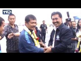 Kedatangan Timnas U-19 Disambut di Bandara Husein Sastranegara