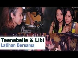 Teenebelle & Libi at TnT Music Studio
