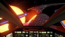 Visite guidée du vaisseau de l'Enterprise de Star Trek en réalité virtuelle