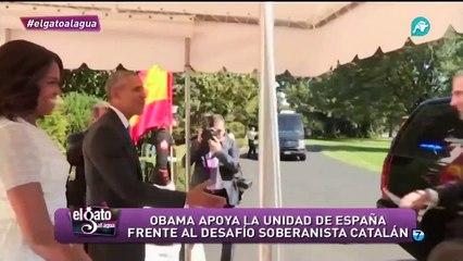 Obama reivindica la unidad de España frente al separatismo catalán