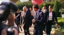 """""""N'ayez pas peur M. Valls !"""" : les encouragements d'un passant au Premier Ministre"""