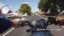 Allemagne : il filme son accident de moto