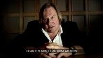 """""""Fier d'être russe"""" : la drôle de publicité de Gérard Depardieu"""