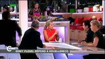 Gros clash entre Edwy Plenel et Patrick Cohen au sujet de Michel Houellebecq dans C à vous