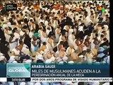Arabia Saudita: inician musulmanes peregrinación anual a La Meca