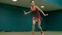 Vogue Beauty - How Ana Ivanovic Styles the Ultimate Tennis Ponytail
