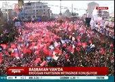 Turkish Prime Minister Recep Tayyip Erdogan's voice is fucked up