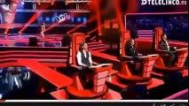 Niña venezolana causa sensación en The Voice España