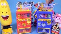 Rabat Distributeur automatique poly pororo d'autres grands de la carte de robot ou robot mini spécial de l'Université de jouets Larve Robocar Poli original, doux, Linge, jouets