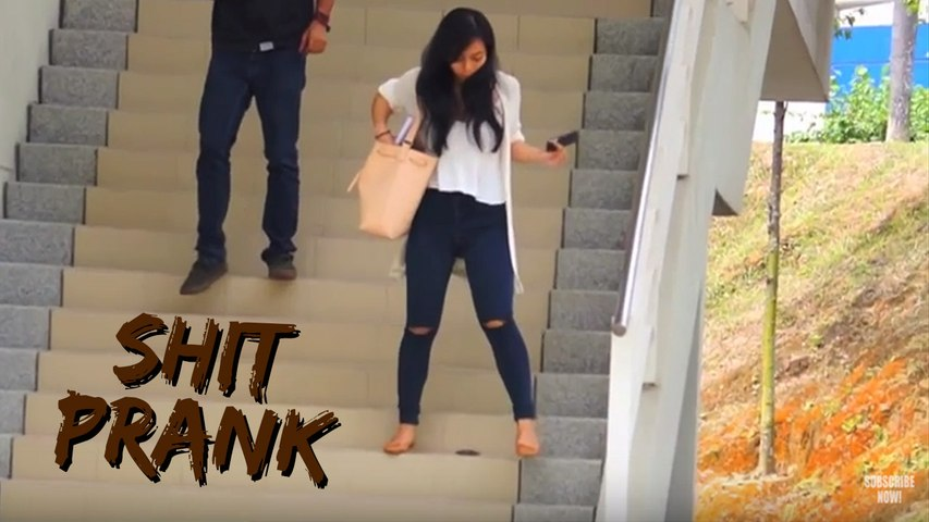 Putting Shit In Front of People | Prank Asia