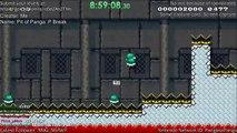 Il crée le niveau le plus dur à Super Mario et met 9h pour le finir!