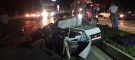 Bayram alışverişine giden gençler kaza yaptı: 2 ölü, 1 yaralı