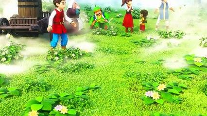 Scène d'ouverture de Dragon Quest Builders