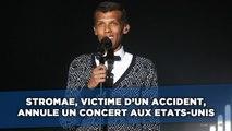 Stromae, victime d'un accident, annule un concert aux Etats-Unis