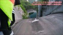 【たーすーけーてーくーれー】自転車で斜面90度のダムの崖を滑走しダイブ!超絶スリル動画登場へ