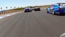 Accident impressionnant pendant un course de Porsche au brésil - Pedro Piquet fait plusieurs tonneaux