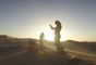 Sand skiing in Peru !