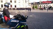Quimper. Le nouveau patron des gendarmes du Finistère installé