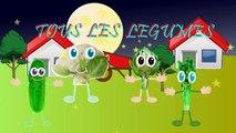 """""""Tous les legumes"""" -La chanson des legumes"""