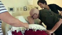 Viral Video- 92 Year Old-Man Singing Love Song to His Dying 93 Year Old Wife