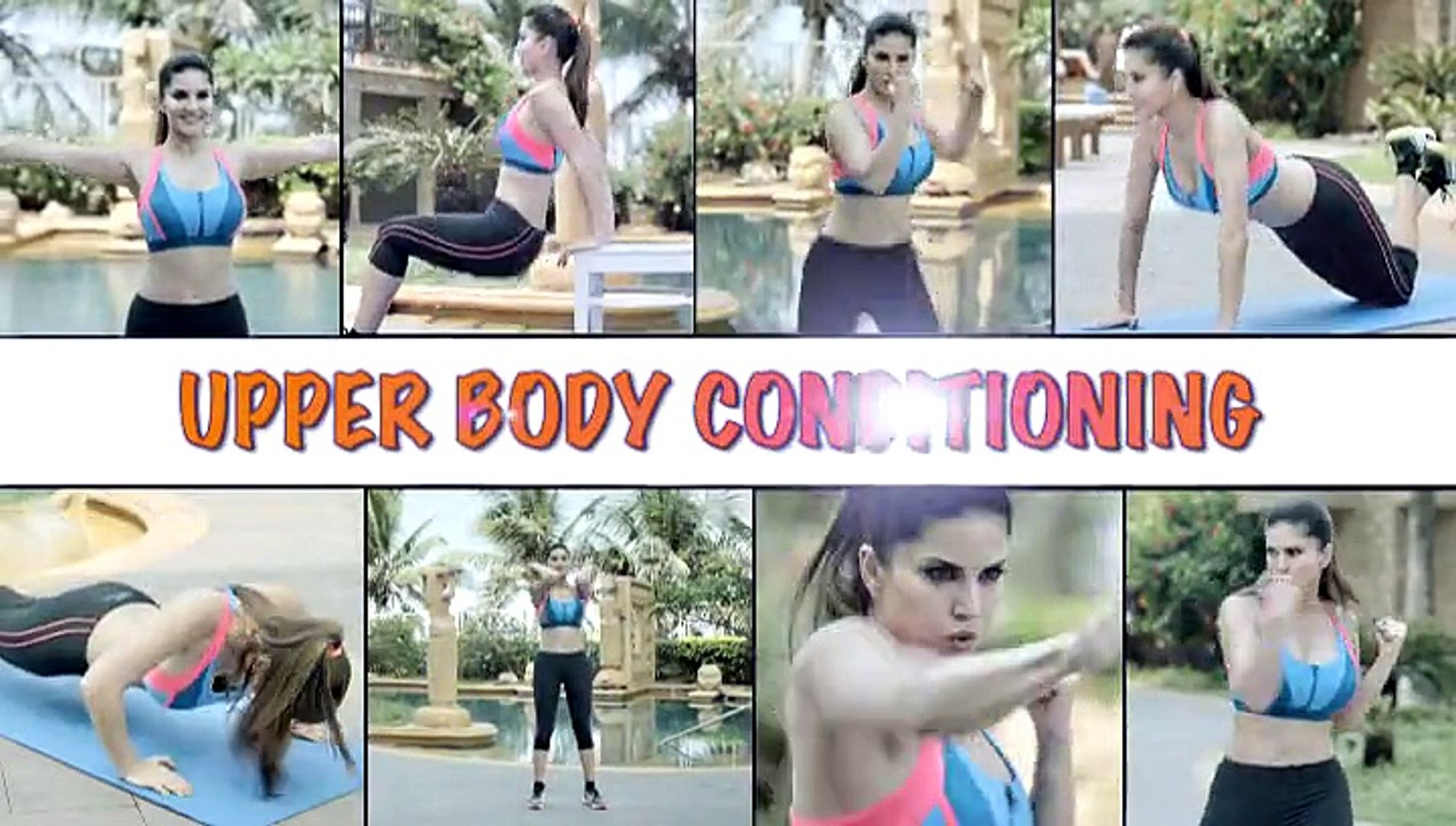 Super Hot Sunny Morning (2015) - Sunny Leone Hottest Morning Exercises - Weight Loss - All Boys &