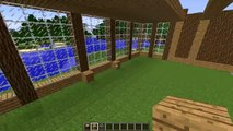 MINECRAFT: How to build big wooden house #5 - Dailymotion Video