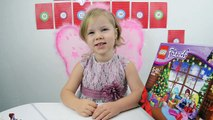 Lego Friends Advent Calendar 2014 – Day 8  Surprise Toy Unboxing  and lots of fun with Lada!