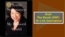 My Beloved World (Thorndike Press Large Print Biographies & Memoirs Se
