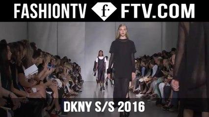 DKNY @ New York Fashion Week 2015! | FTV.com