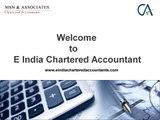 Chartered Accountants Delhi  - E India Chartered Accountant