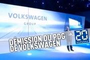 Le PDG de Volkswagen, Martin Winterkorn démissionne