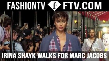 Irina Shayk walks for Marc Jacobs NYFW | FTV.com