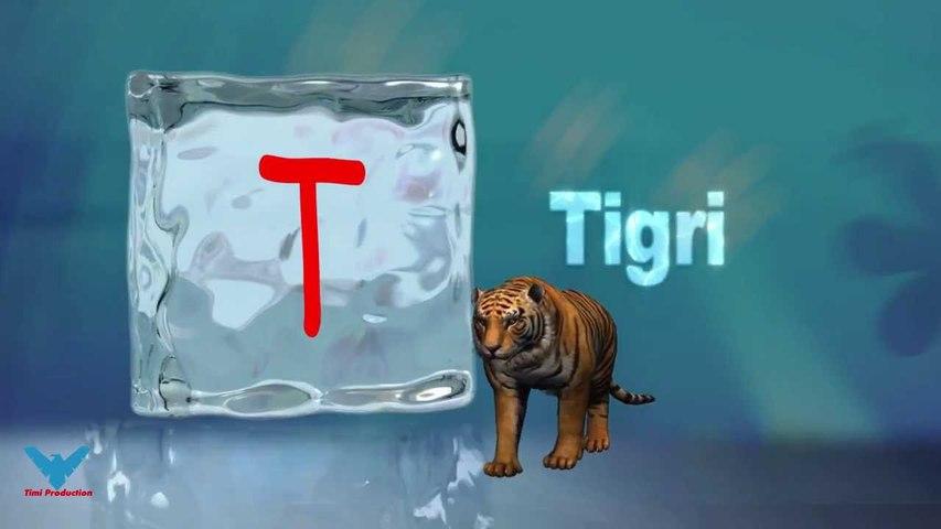 T Alfabeti Shqip shkronja T