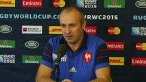 Rugby - CM - Bleus : Saint-André «Encore 5 matches à gagner»