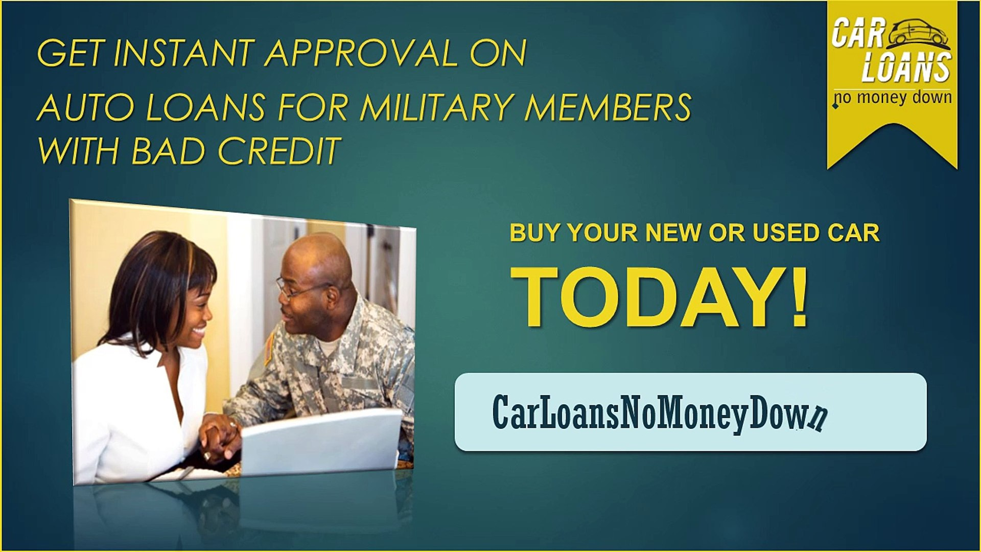 Bad Credit Military Loans >> Auto Loans For Military Members With Bad Credit