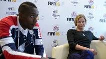 VIDÉO - FIFA 16 : Blaise Matuidi et Laure Boulleau testent la dernière version du jeu