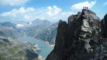 Traversée des Perrons Est Ouest Aiguilles Rouges Chamonix Mont-Blanc alpinisme escalade