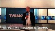 Le message d'Yves Bigot, directeur général de TV5monde, suite à la cyber-attaque de la chaîne