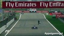 F1 : un spectateur traverse la piste en pleine séance d'essais libres du Grand Prix de Chine