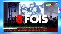 Alessandra Sublet enchaîne les bourdes lors de la cérémonie de candidature des JO 2024