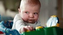 Poo faces : Pampers filme des bébés en train de faire caca