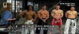 Fight Science Kick Test (Capoeira, Karate, Muaythai & Taekwondo)