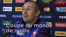 RWC2015: Saint-André invente cadrage déblaiement