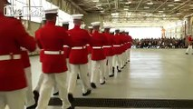 Marine Corps Battle Colors, Marine Corps Air Station Beaufort, S.C.