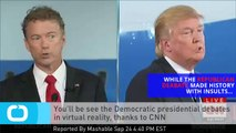 You'll Be See the Democratic Presidential Debates in Virtual Reality, Thanks to CNN