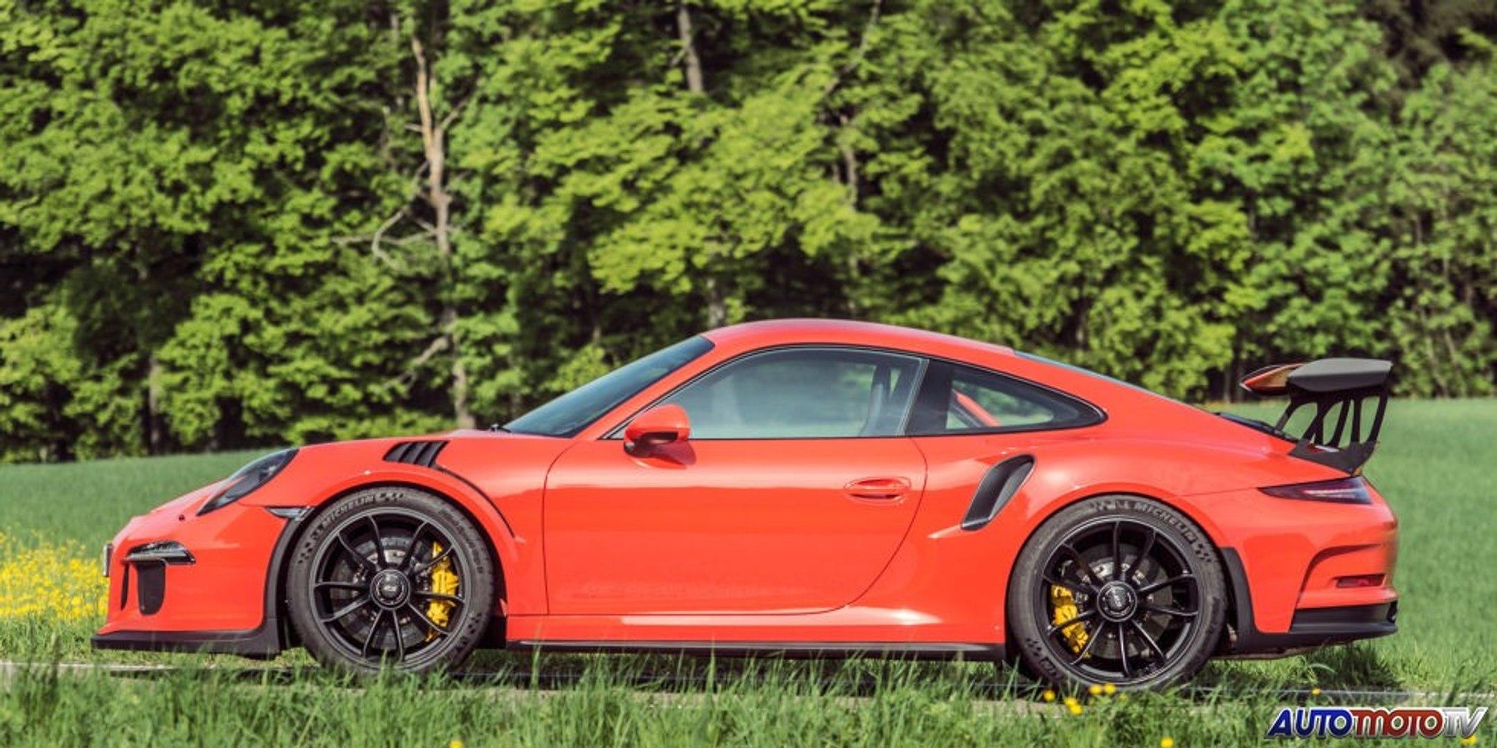 2016 Porsche 911 GT3 RS : Test Drive