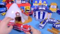 Robot train RT cas-Alpes-maison, Bonjour la voiture robot pororo ou robot K train encore un jouet Robot des Trains, des Trains héros jouets jouet pudding