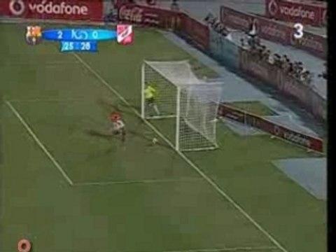 Primer gol de Bojan con el Barça